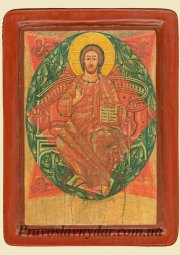 The icon of Christ in glory (XVI century) - фото
