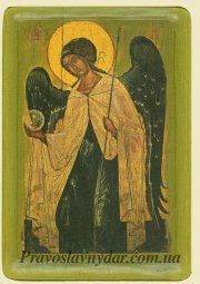 <<The icon of the Archangel Gabriel (XIV century)>> - фото