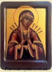 Seven Arrows Mother of God icon - фото