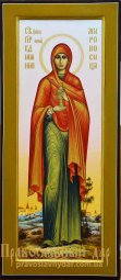 Measured Icon of St. Johanna - фото