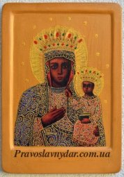 <<The icon of the Holy Mother of God of Hoshiv>> - фото