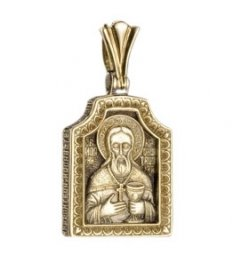 "Icon ""The Holy Righteous John Of Kronstadt"" - фото"